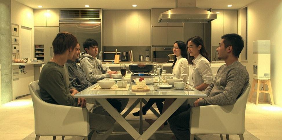 Terrace House House Meeting with Arisa, Natsumi, Arman, Hikaru, Minori, and Tatsuya