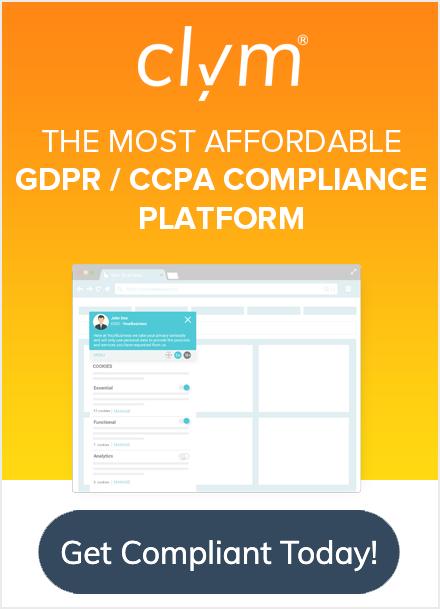 GDPR & CCPA Compliance Platform