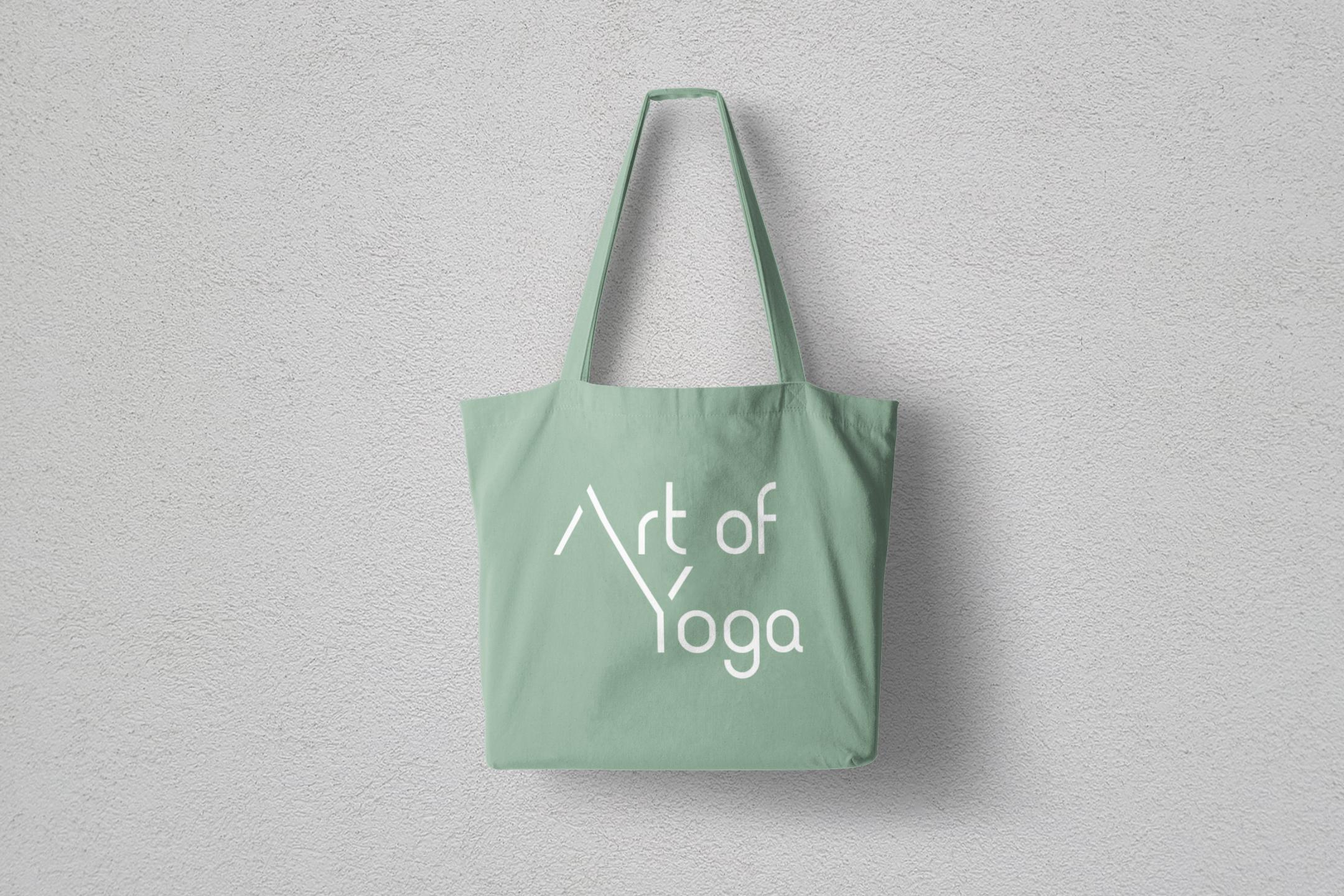 Art of Yoga tote