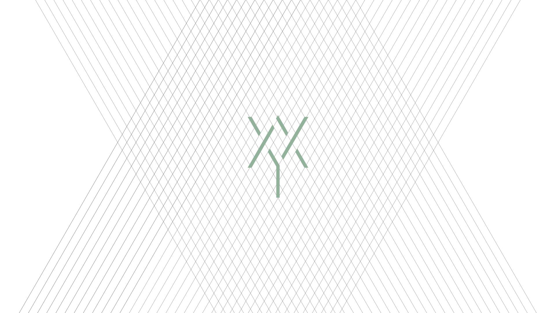 Art of Yoga logo on a grid
