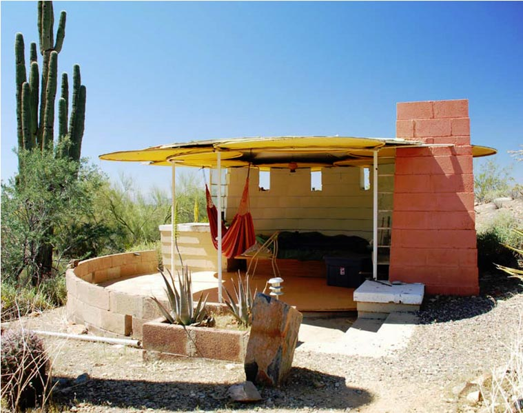 Taliesin Shelters, USA student projects