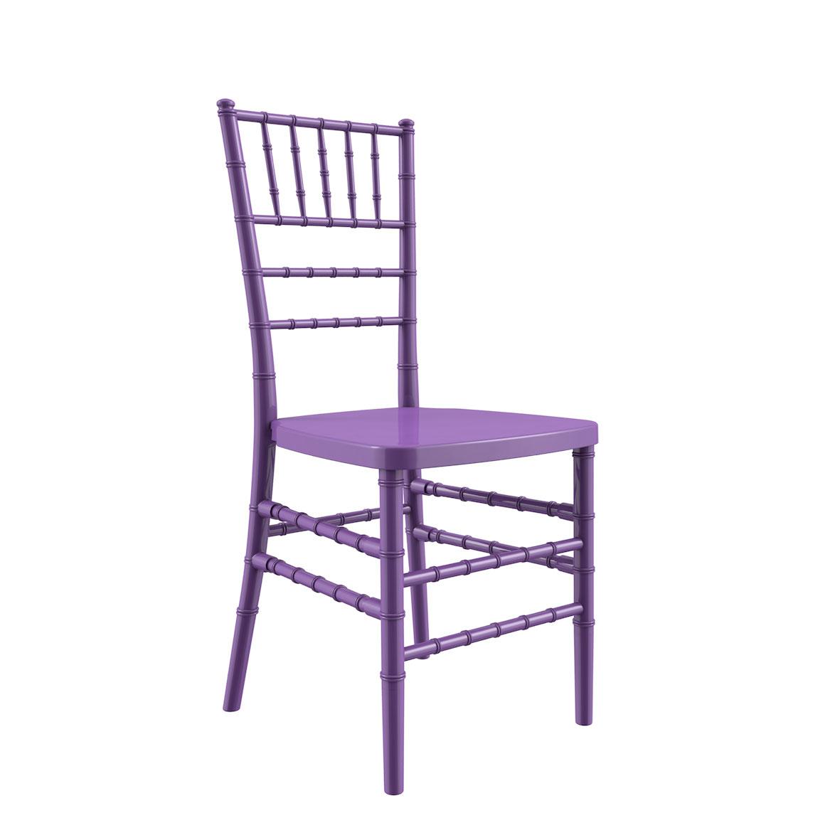 Cadeira Tiffany Color Lilás Clara