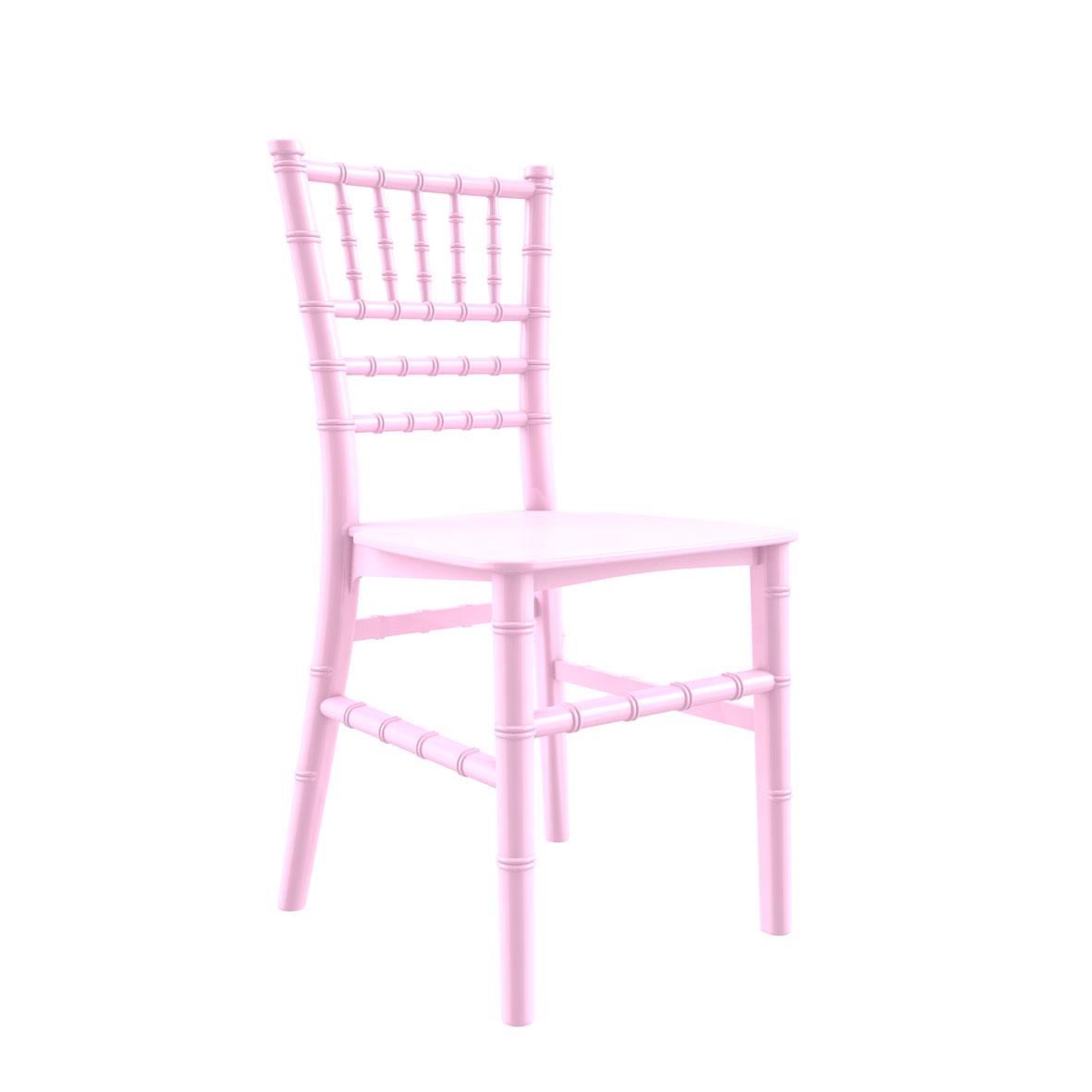 Cadeira Tiffany Infantil Color Rosa