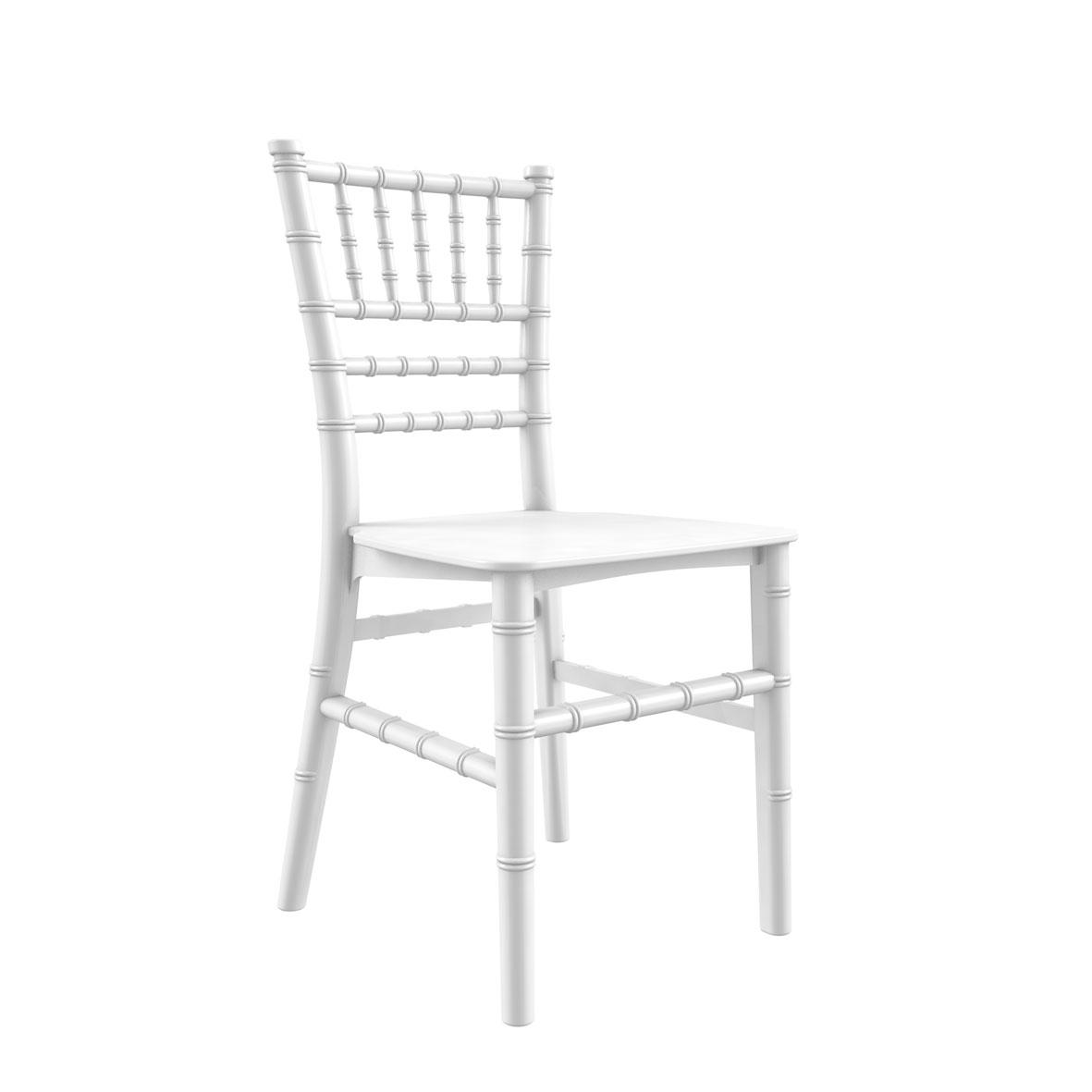 Cadeira Tiffany Infantil Color Branca