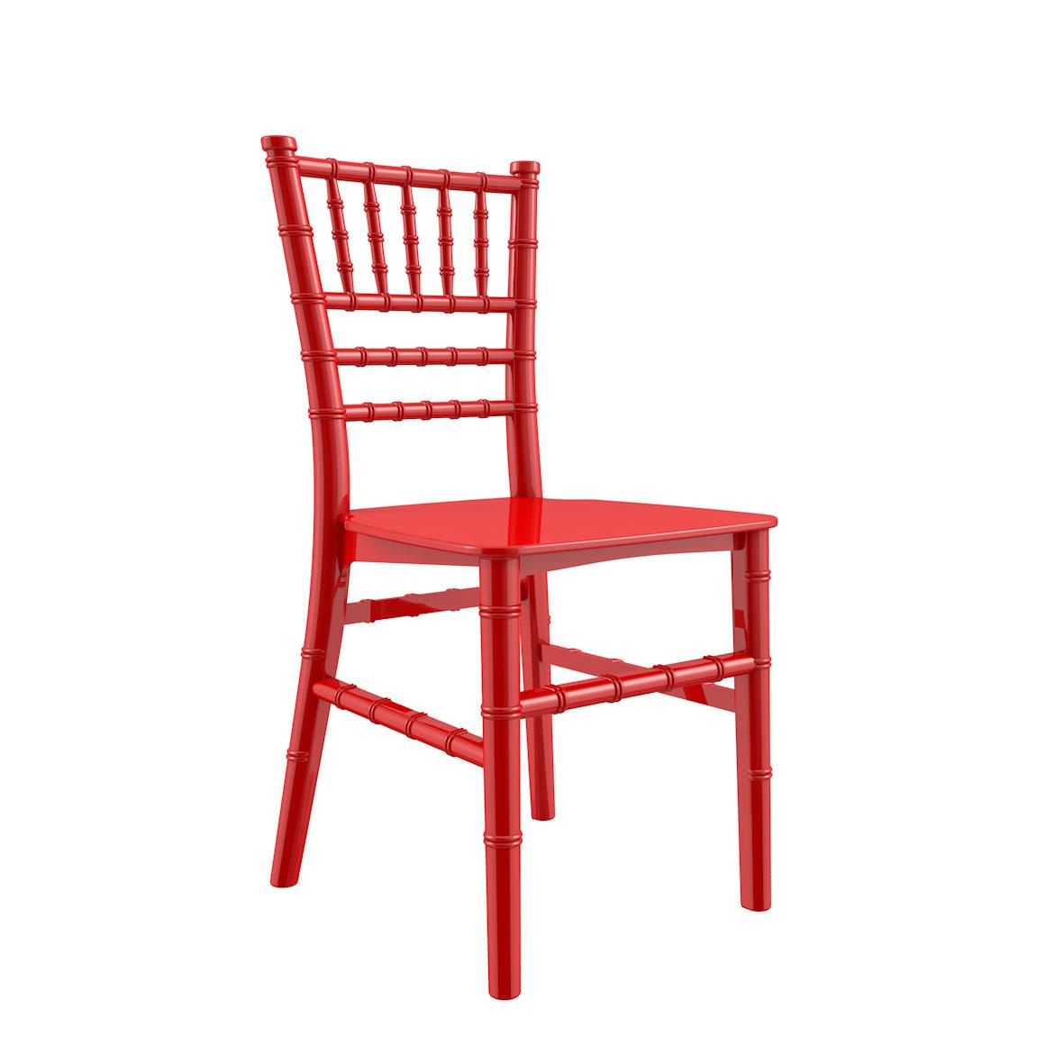 Cadeira Tiffany Infantil Color Vermelha