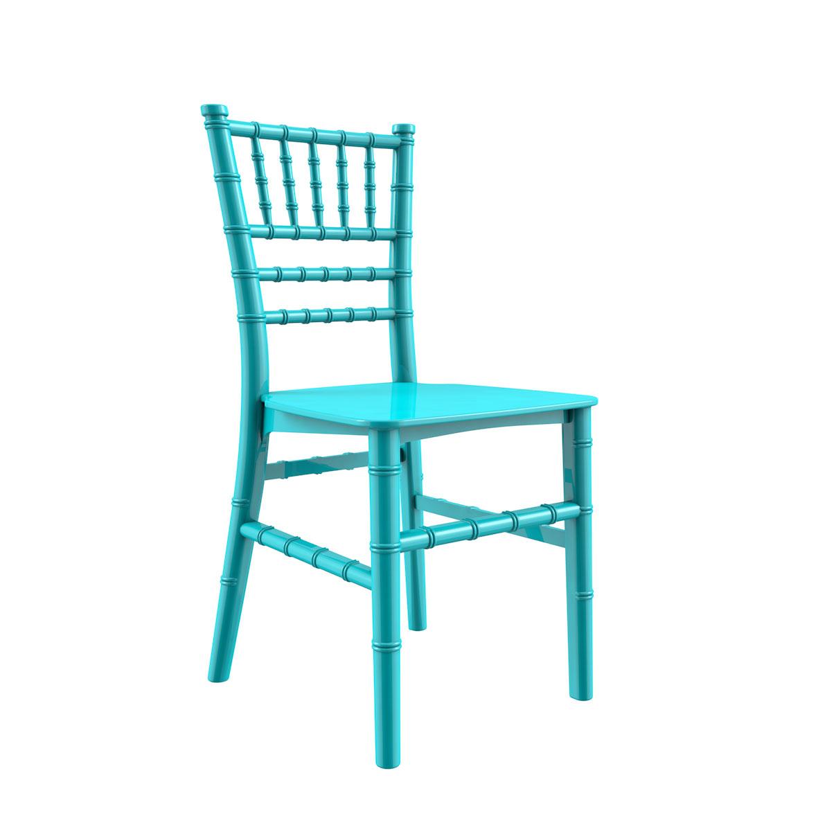 Cadeira Tiffany Infantil Color Azul Tiffany