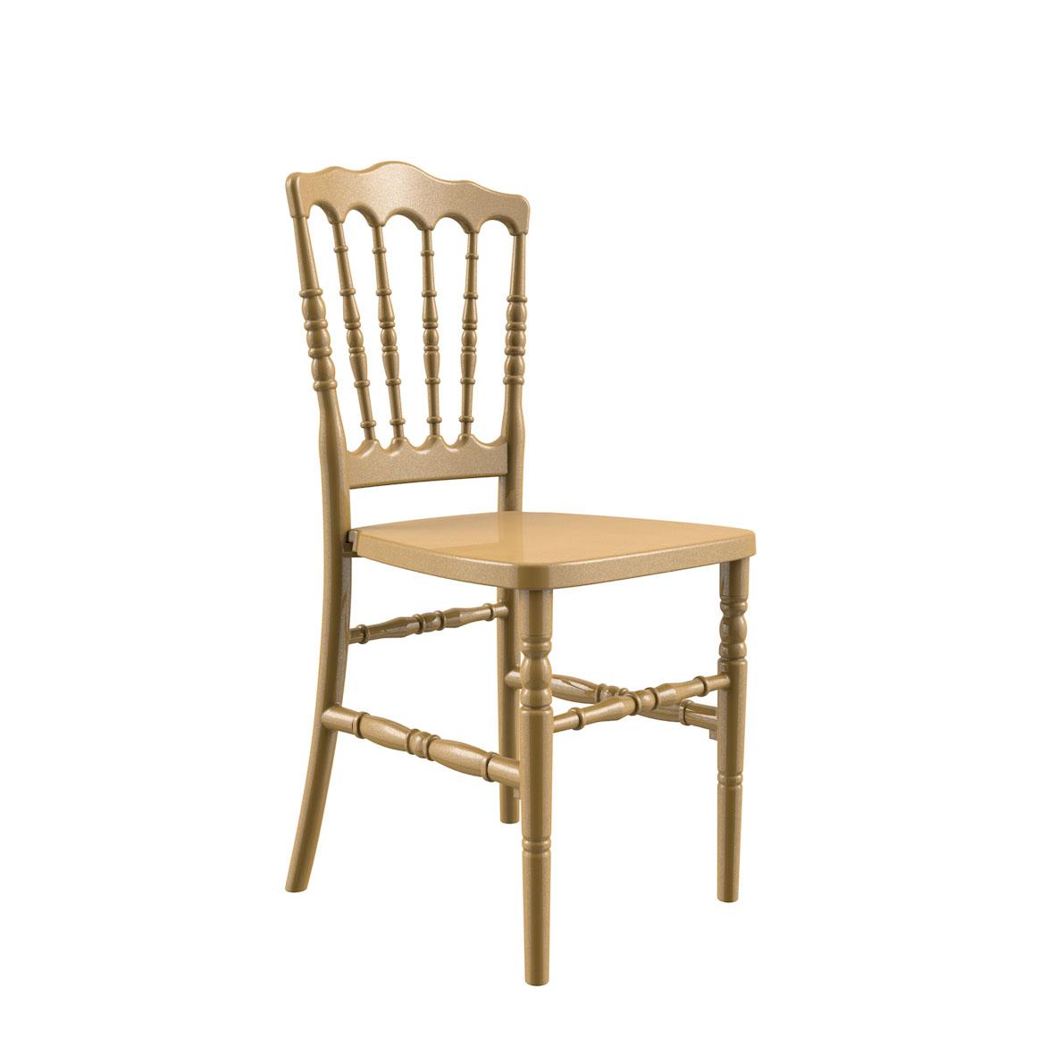 Cadeira Dior Color Dourada