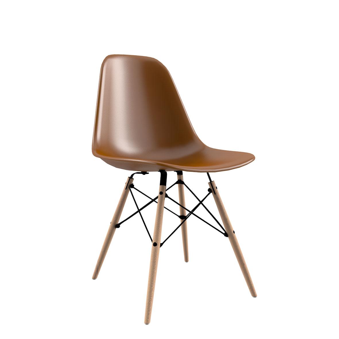 Cadeira Eames Bronze