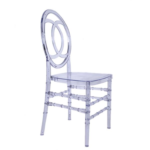Cadeira Chanel Transparente