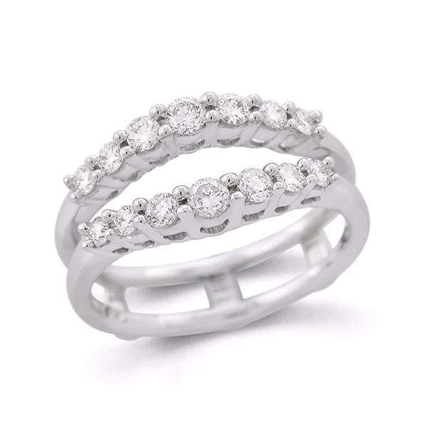Diamond Wedding Band Insert Henry Wilson Jewelers Syracuse Ny