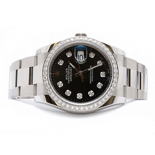 Pre Owned Rolex 36mm Datejust With Oyster Bracelet