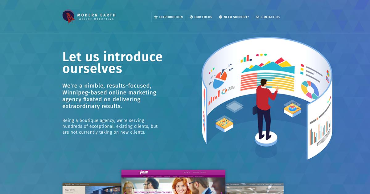 Modern Earth Inc  - Online Marketing Winnipeg, Canada