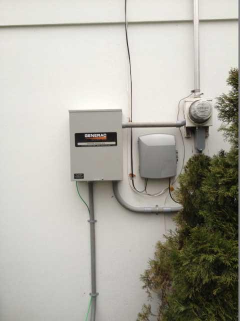 Outdoor Generac Control Panel