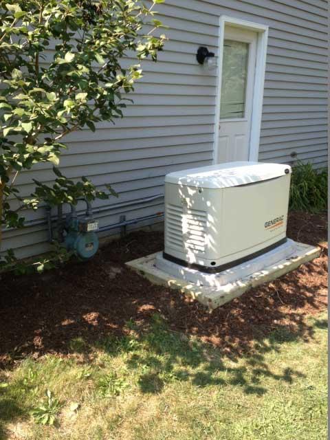 Generac Generator Installed in Painesville Ohio