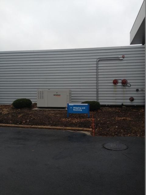 Generac Commercial Generator Installed