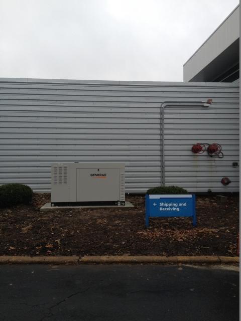 Generac Commercial Generator Installation