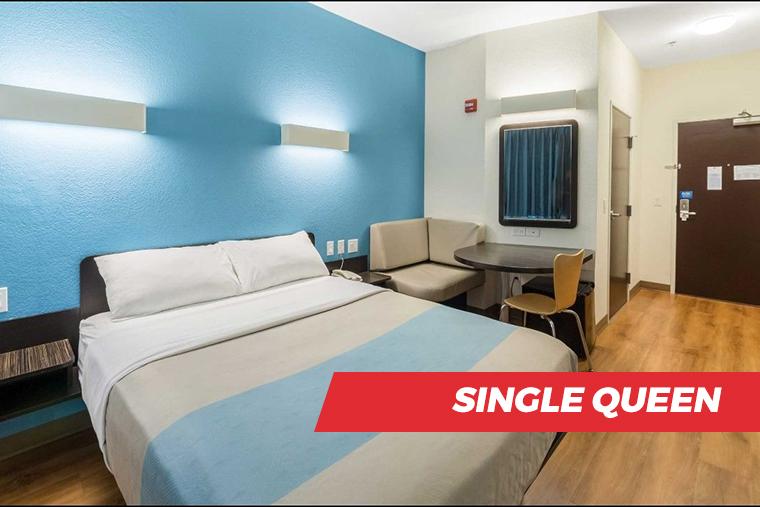 Motel 6 Single King