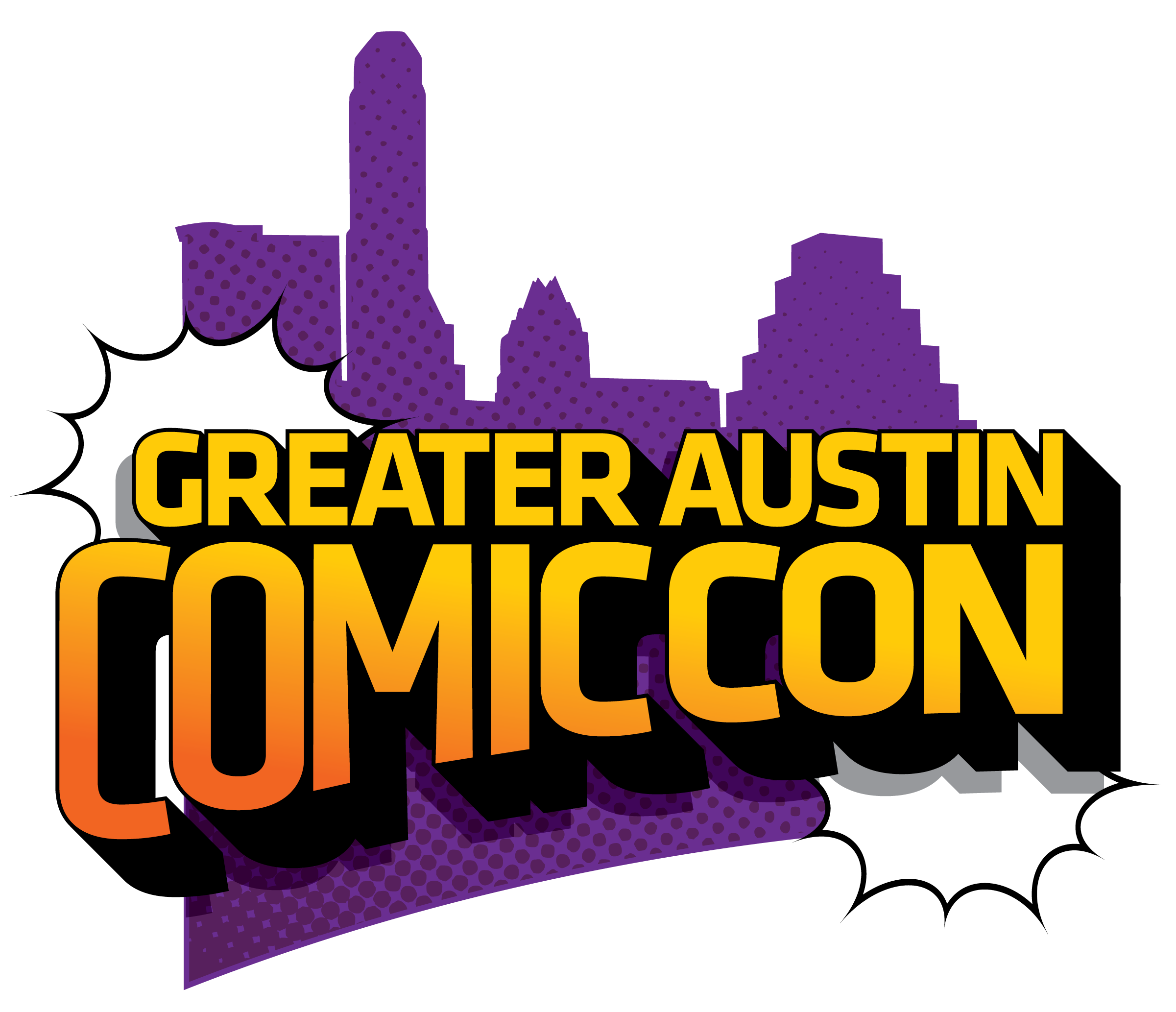 Greater Austin Comic Con Logo