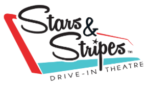 Stars and Stripes Drive In Logo