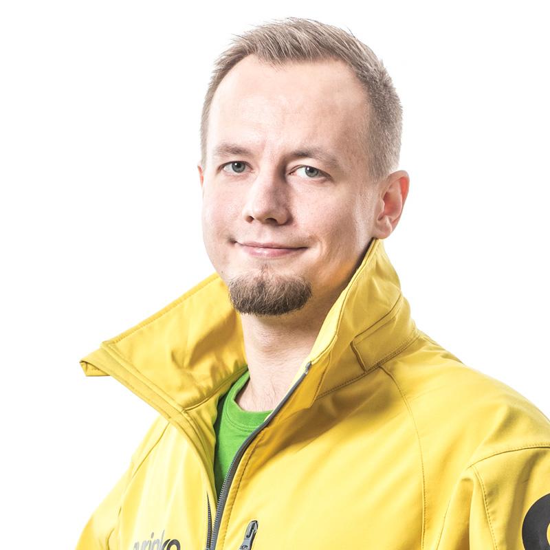 Asiakkuuspäällikkö Paavo Uusitalo
