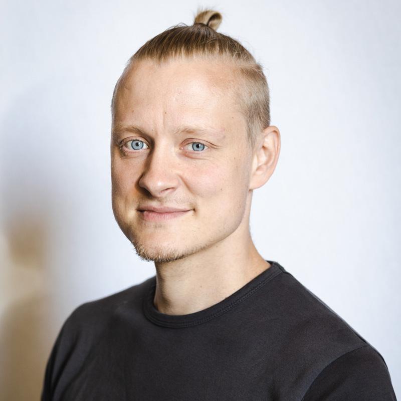 Toimitusjohtaja Ville Tiainen