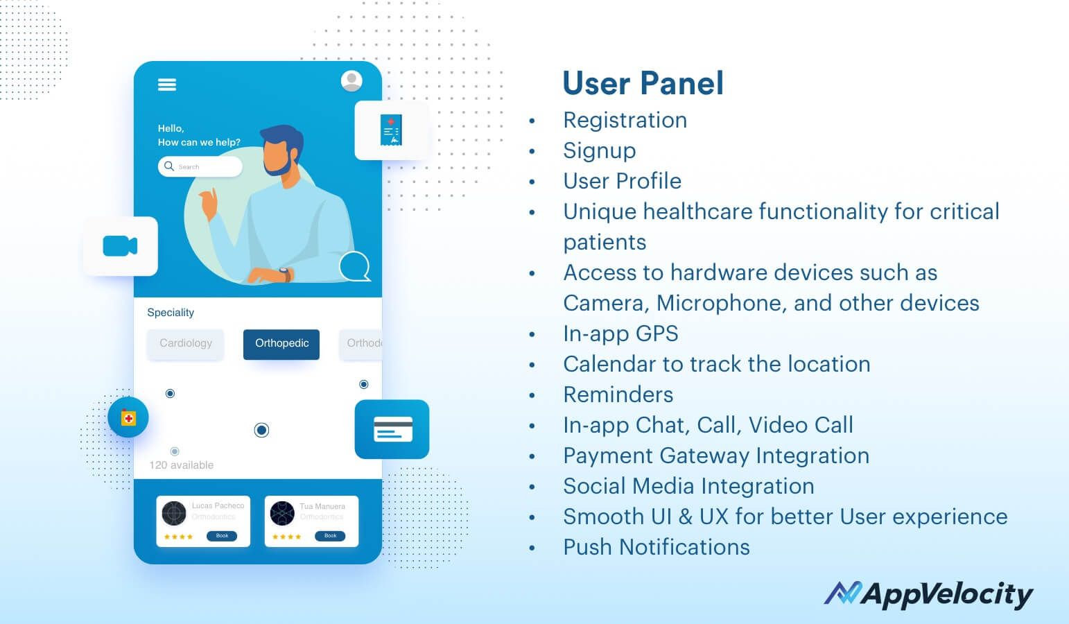 User Panel - Health App Dev
