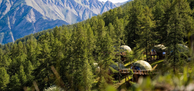 Le Dôme Bois, un ecolodge en pleine nature