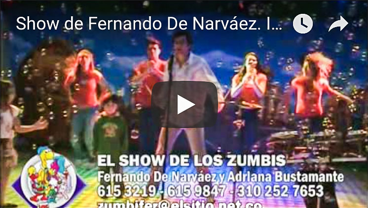 Show en tu Jardín Infantil - Show de los Zumbis