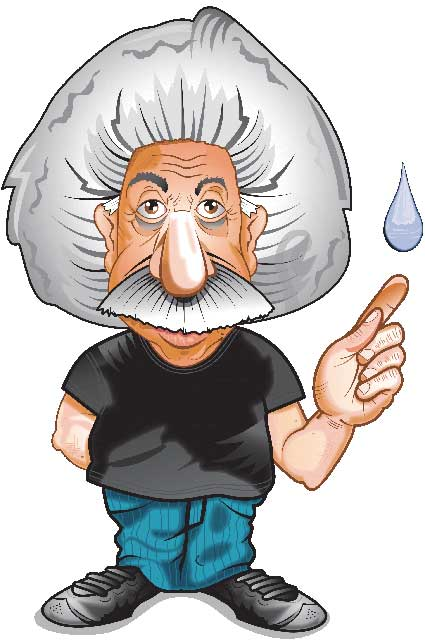 Einstein Plumbing Logo