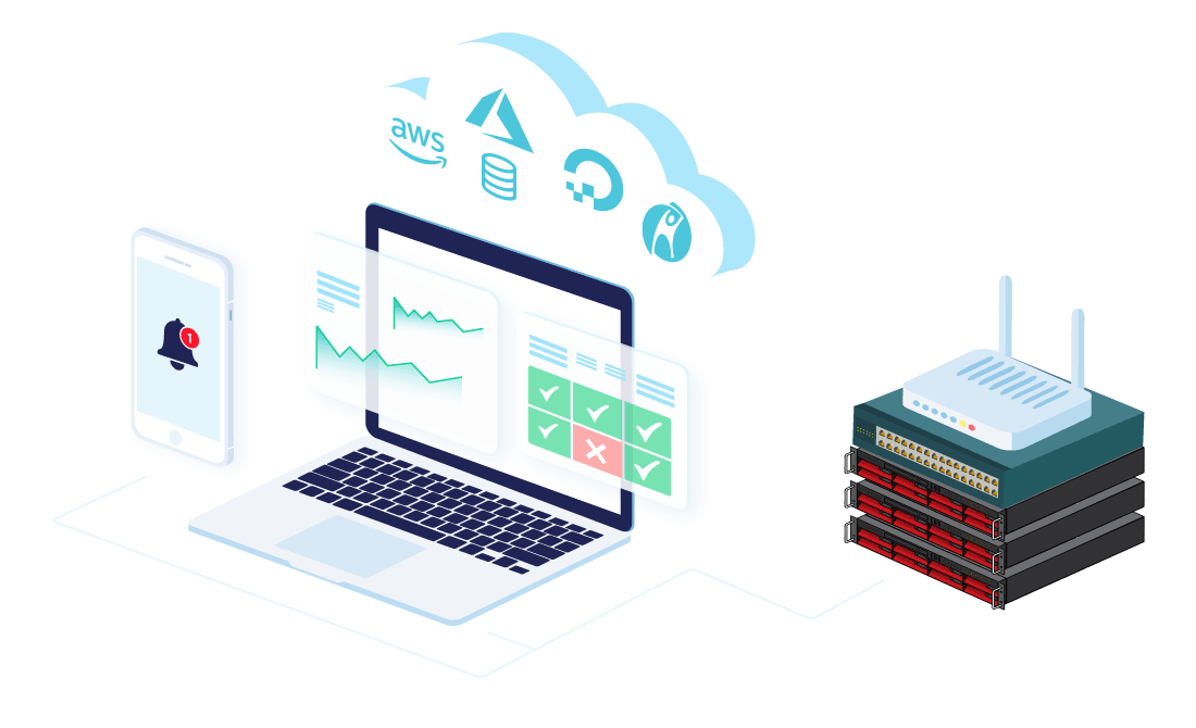 Server Monitoring Software by CloudRadar