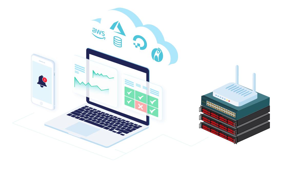 CloudRadar Monitoring Software
