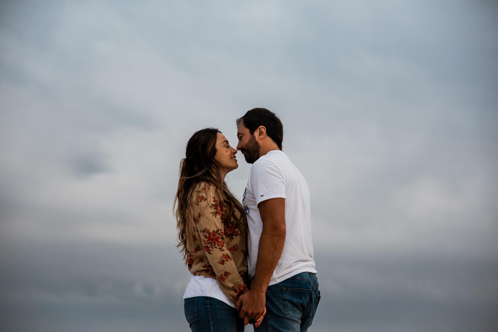 sesión de fotos de pareja