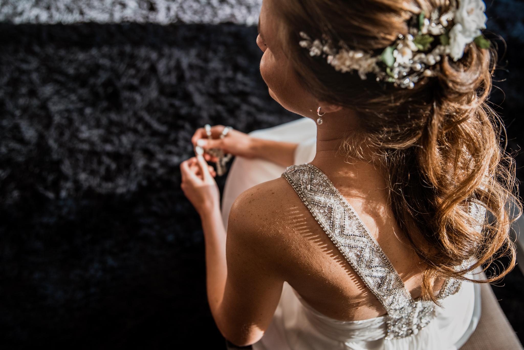 Preparativos de novia en Salto