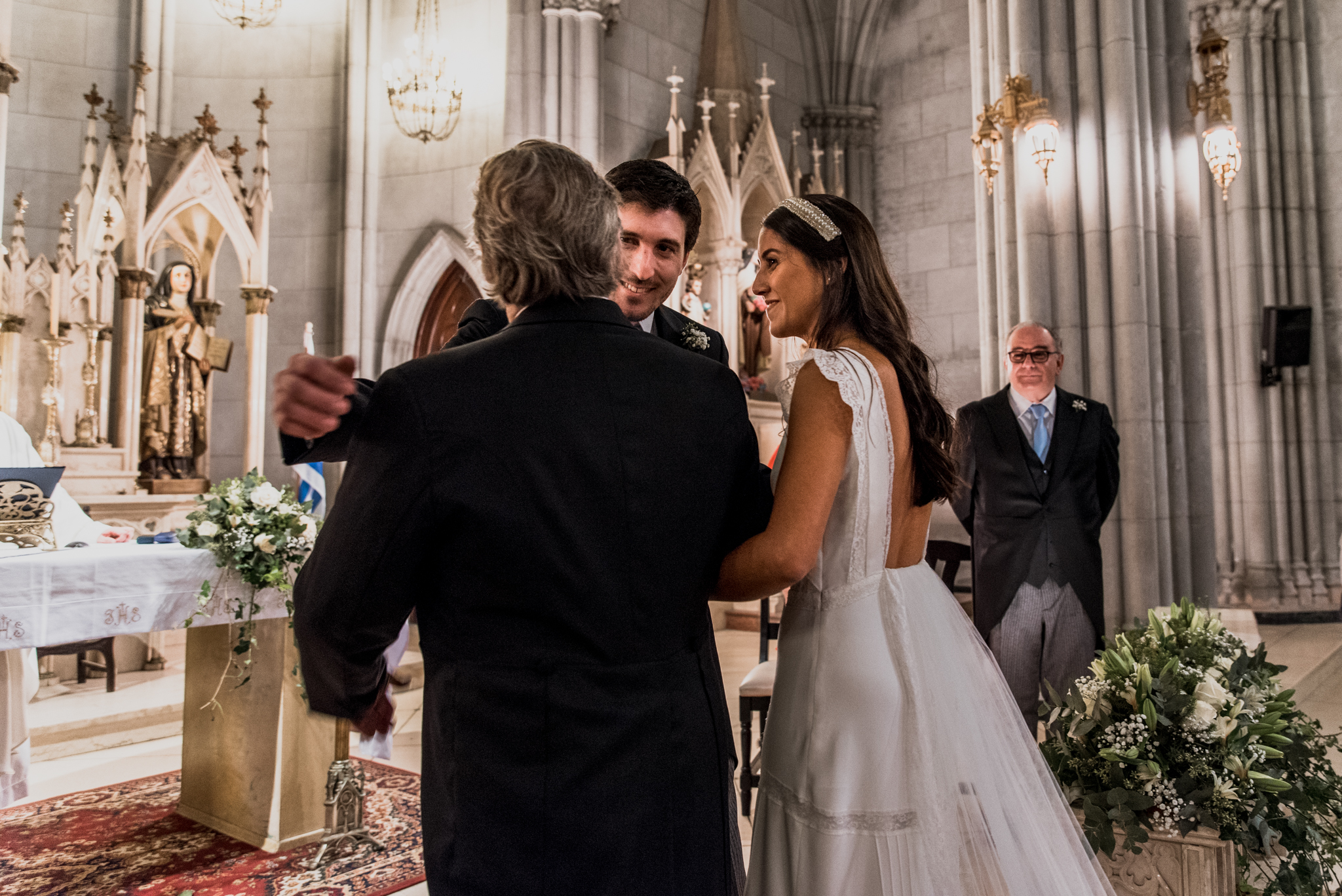 casamiento en Iglesia Las Carmelitas