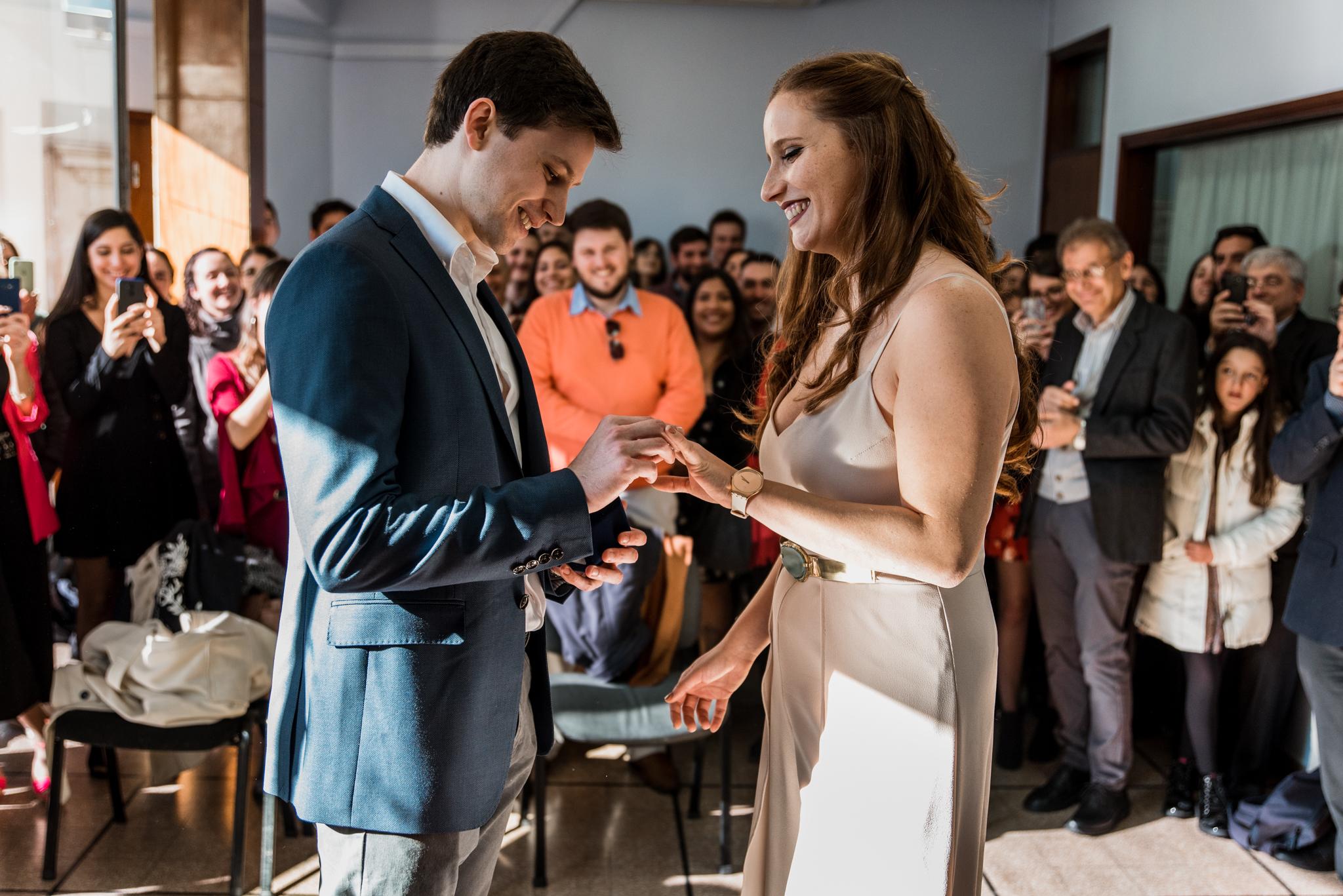casamiento civil en Montevideo