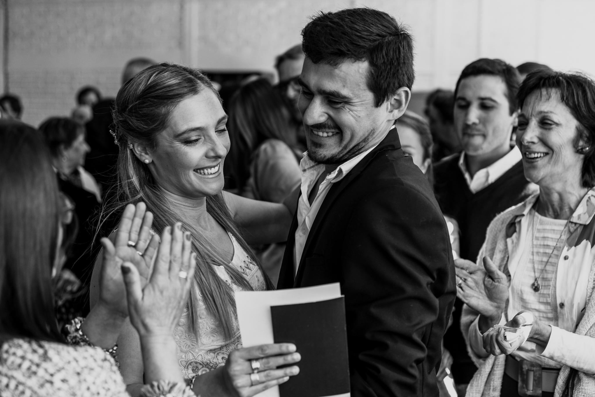 casamiento civil en Young, Río Negro