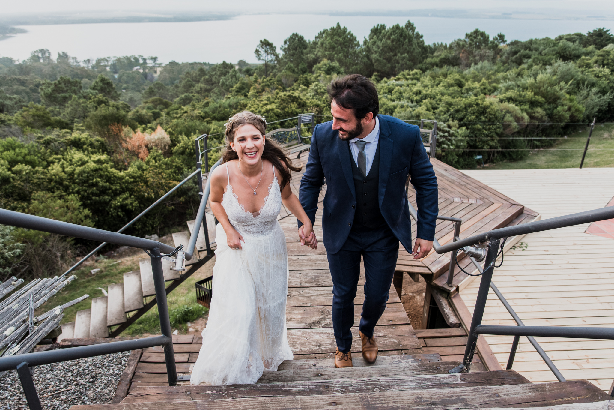 boda al atardecer en Hotel Las Cumbres, Maldonado