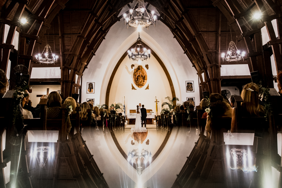 Casamiento en Iglesia Stella Maris, Montevideo