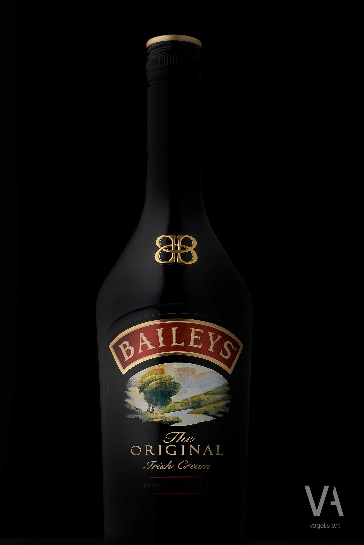 Baileys product photography