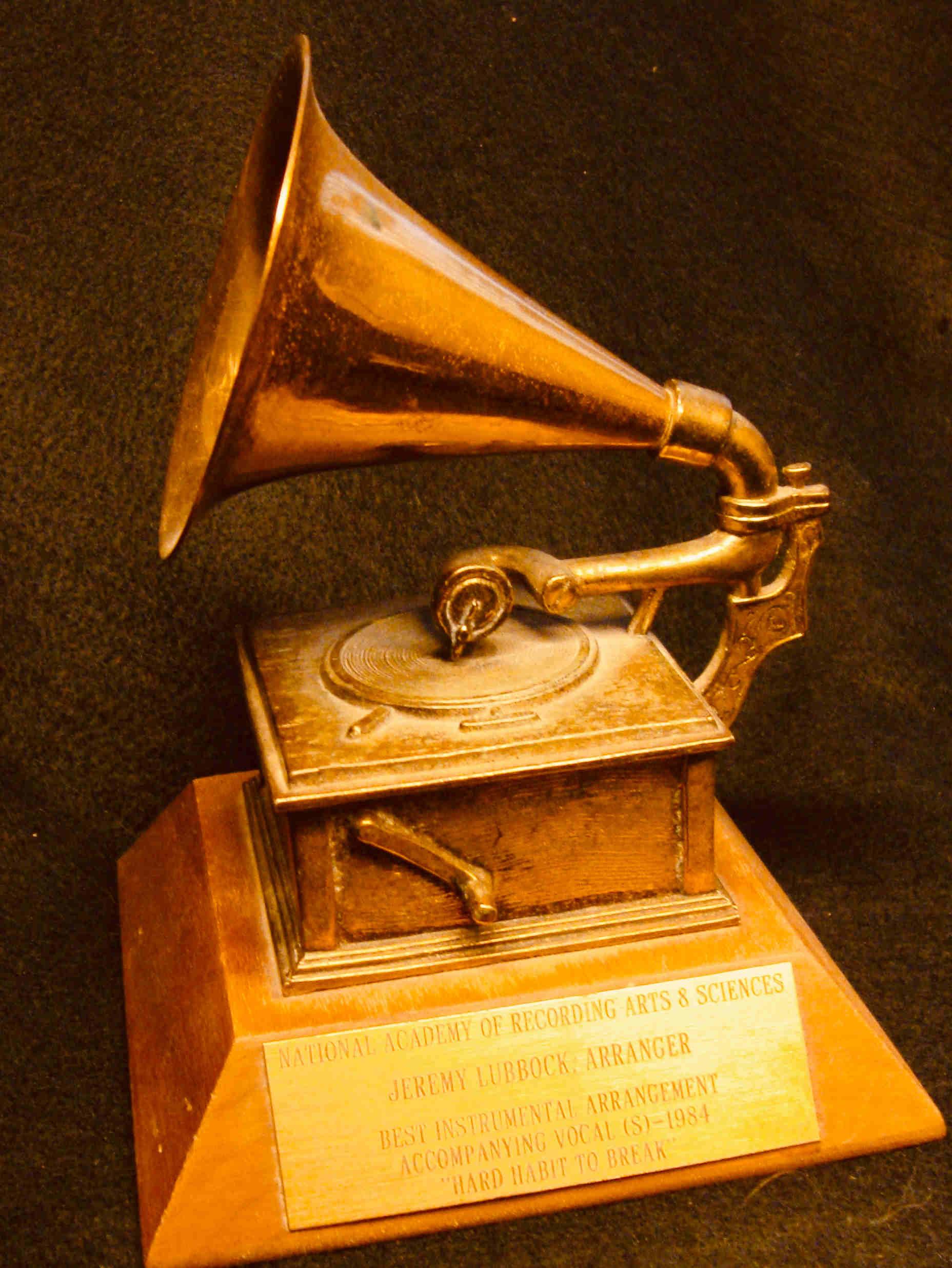 """Grammy - 1984 Chicago """"Hard Habit To Break"""""""