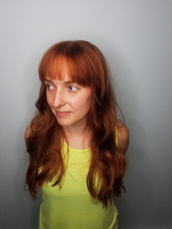 Red Florence and the machine hair by meta