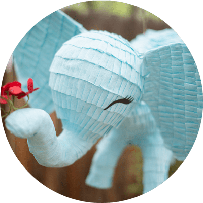 custom elephant pinata