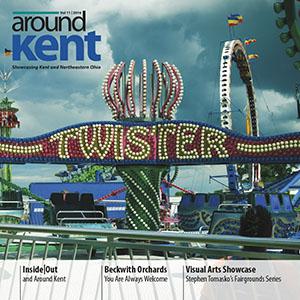 aroundKent Magazine. Kent, OH.