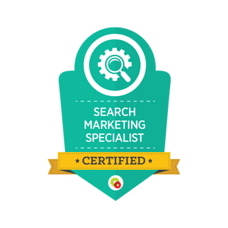 Search Marketing Specialist certification