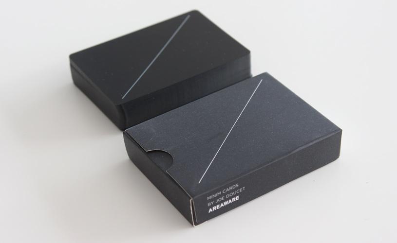 Minim cards by Joe Doucet