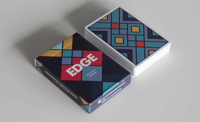 Edge playing cards deck