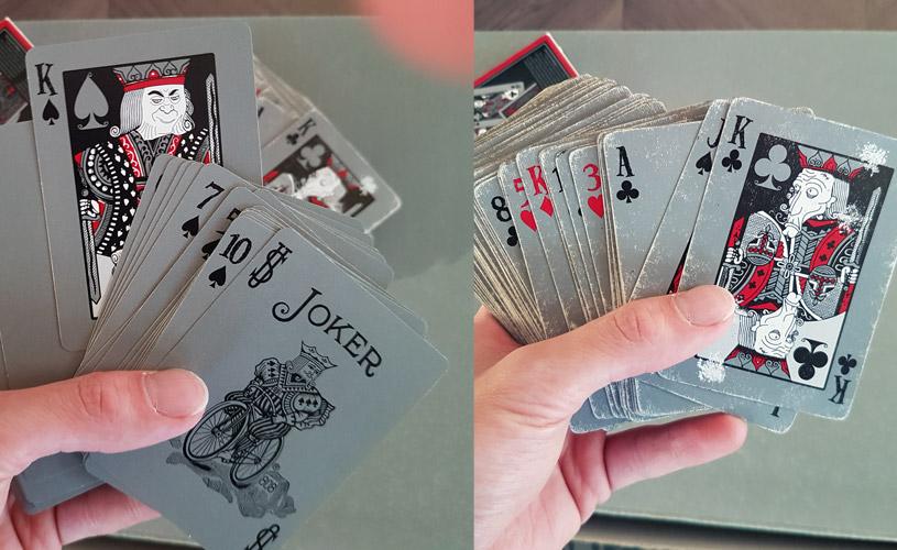 tragic royalty playing cards ew vs old