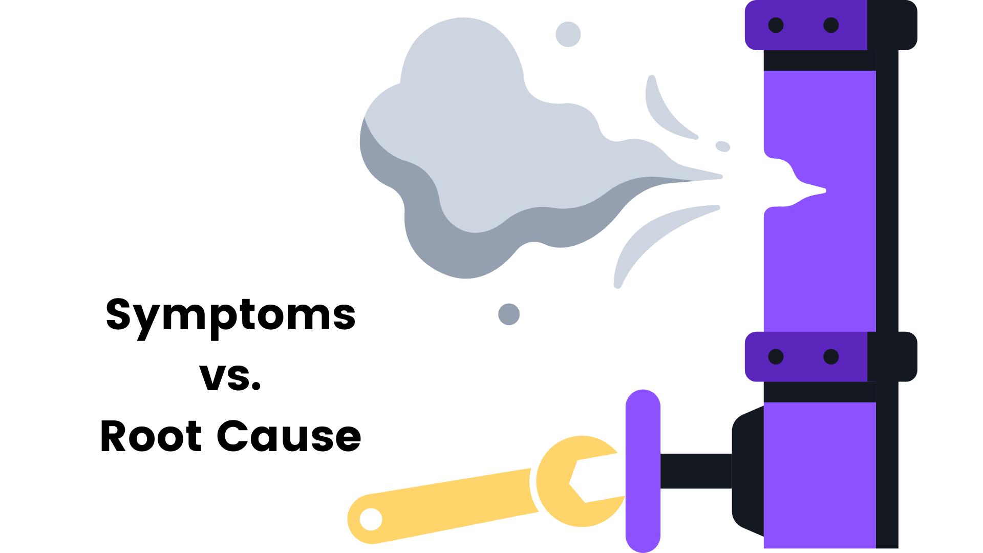 Symptoms vs Root Cause of Process Inefficiency