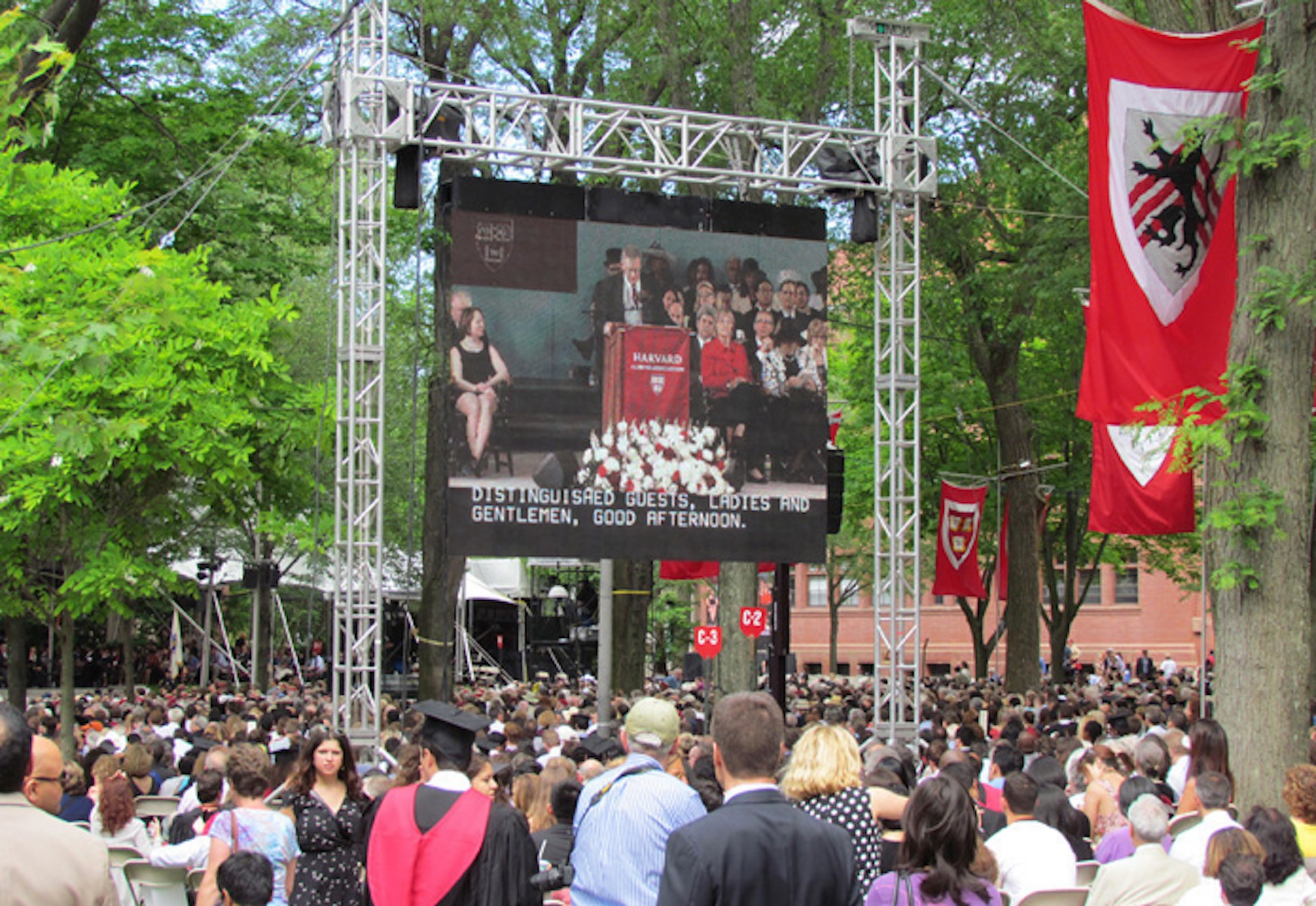 LED Screen Rental for Commencement Ceremonies