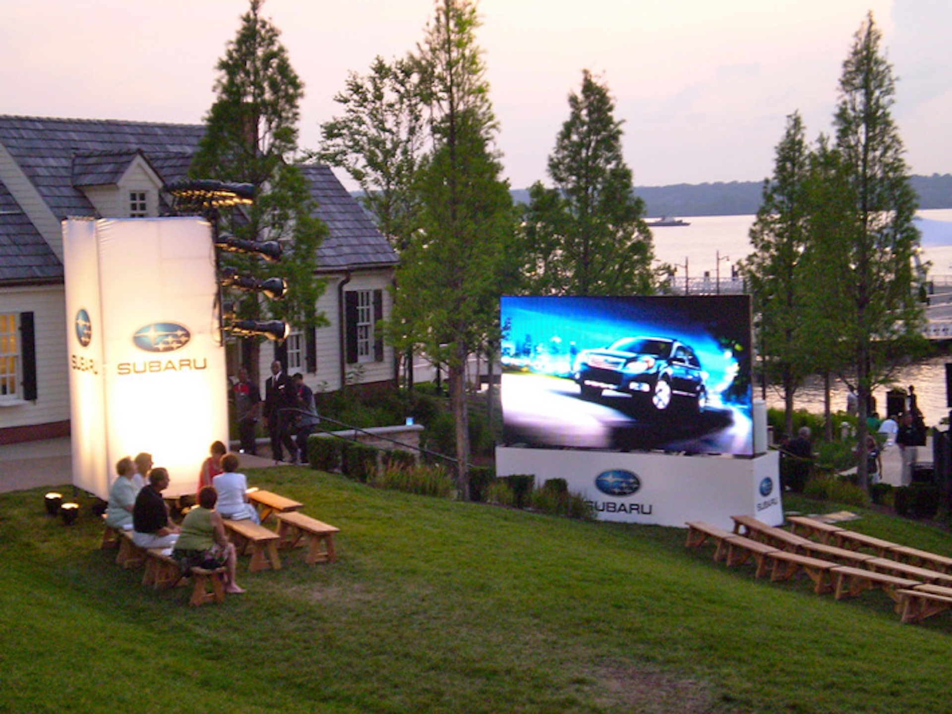 LED screen rental for Car Shows